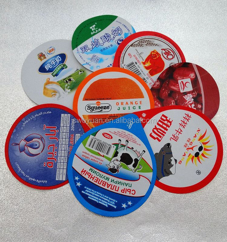 Supply custom aluminum foil k cup lid