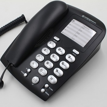 High Quality Corded Telephone, Wall Mounted Basic Phone for Home/Office/Hotel
