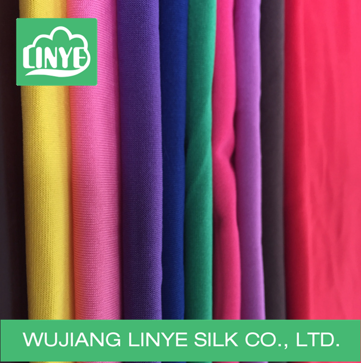 multi color 95 polyester 5 spandex knit fabric for sports wear