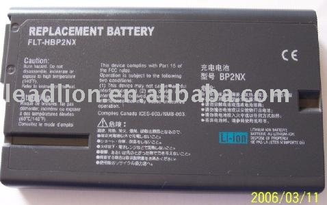 BP2NX Laptop battery for SONY VAIO PCG-GR & PCG-NV series
