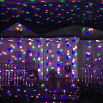 Rainbow LED lights IP65 d1000 laser projector light Christmas led big  snowflake outdoor garden light Xmas - Rainbow Led Lights Ip65 D1000 Laser Projector Light Christmas Led