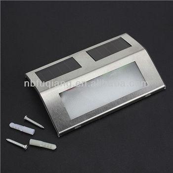 Fq-529 Stainless Steel Solar Floor Light,Solar Step Light