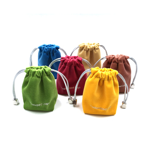 Eco friendly cheap digital printing microfiber drawstring jewelry bag pouch with pull string wholesale china