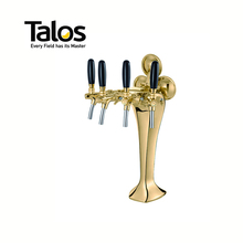 TALOS Cobra Tap Tower PVD 4-way Dispensing Tower Draft Beer Tower
