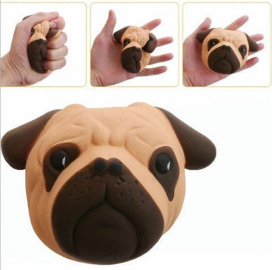 Fun Slow Rising Squishy Crazy Dog Scented Soft Focus Squeeze Kids Decompression Toys wholesale toy from china