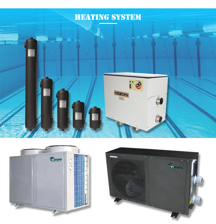 Home Use Stainless Steel Industrial Swimming Pool Water Heating Equipment Heater Exchanger From China