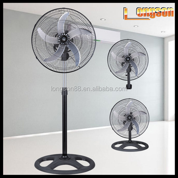 Electric motor 45w standing dc fan 12v with timer for 12v dc table fan price
