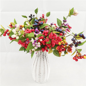 Factory direct silk flower and fruit plants artificial decorative