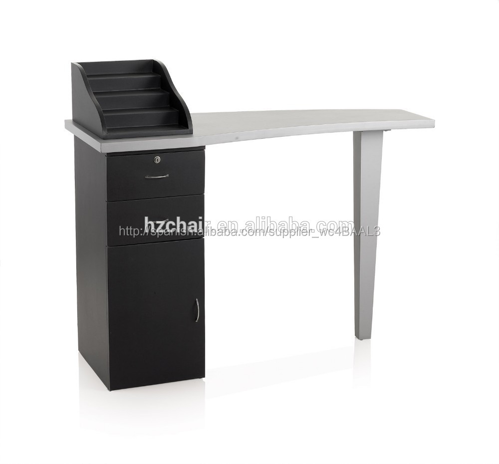 caliente de la venta de pintura salon and spa nail desk table nail con