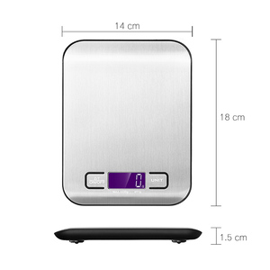 Cheap Professional stainless steel weigh scale for kitchen food