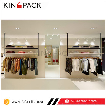 Retail Clothing Store Display Showcase Ideas Design For Garment Shop ...