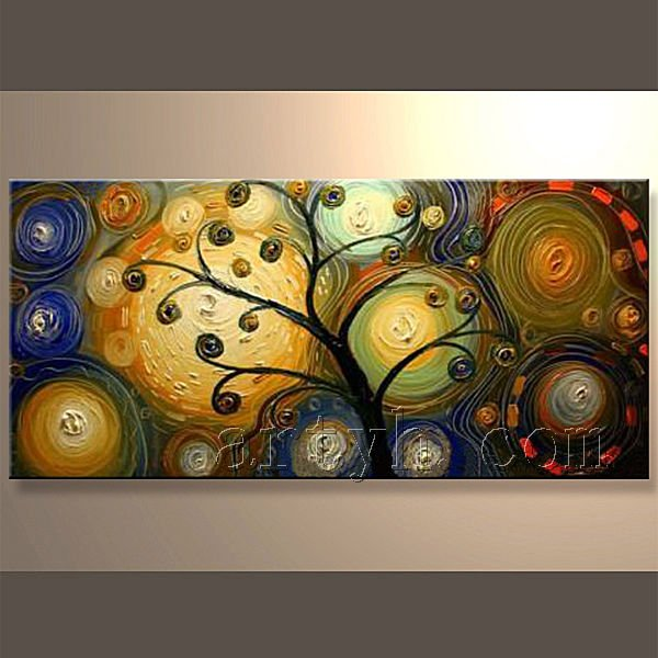 Hot Sell Handmade Abstract OEM Oil Painting