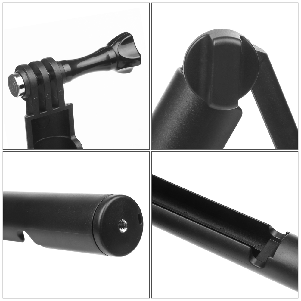 SHOOT New Style Action Camera Handlebar Go Pro 3-way Grip Arm Tripod 3 Way Monopod For Gopro Hero 6