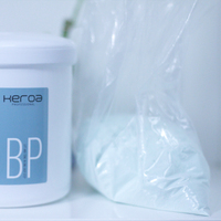 private label hair color remover dust free hair bleaching powder for professional salon use