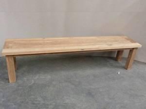 Get Quotations · Atlanta Teak Furniture   Reclaimed Teak Backless Bench   3  Seater