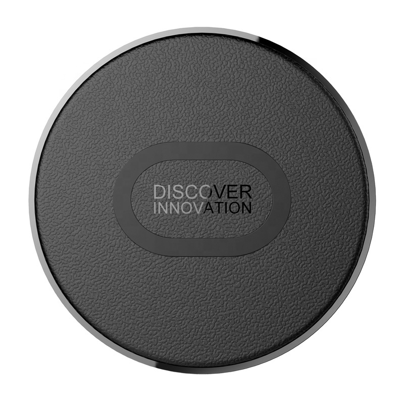 Easy bring Mini ultra thin wireless fast charger for Samsung S10, 1cm 9V 1.7A