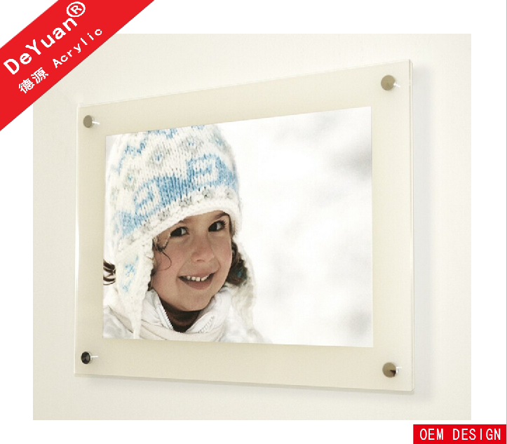 16x20 acrylic picture frames / wall mounted acrylic photo frames