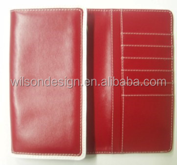 cow channel leather wallet maker