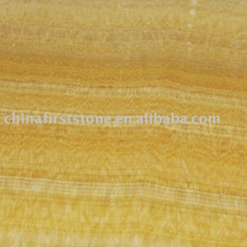 Yellow Onyx Marble Flooring HCM02