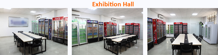 180w 300L single door vertical refrigerator freezer for juice