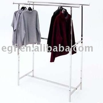 hanging clothes rack clothes hanger display rack stand