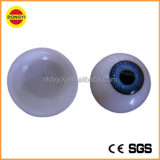 High quality wholesale acrylic doll eyes shiny blue eyes