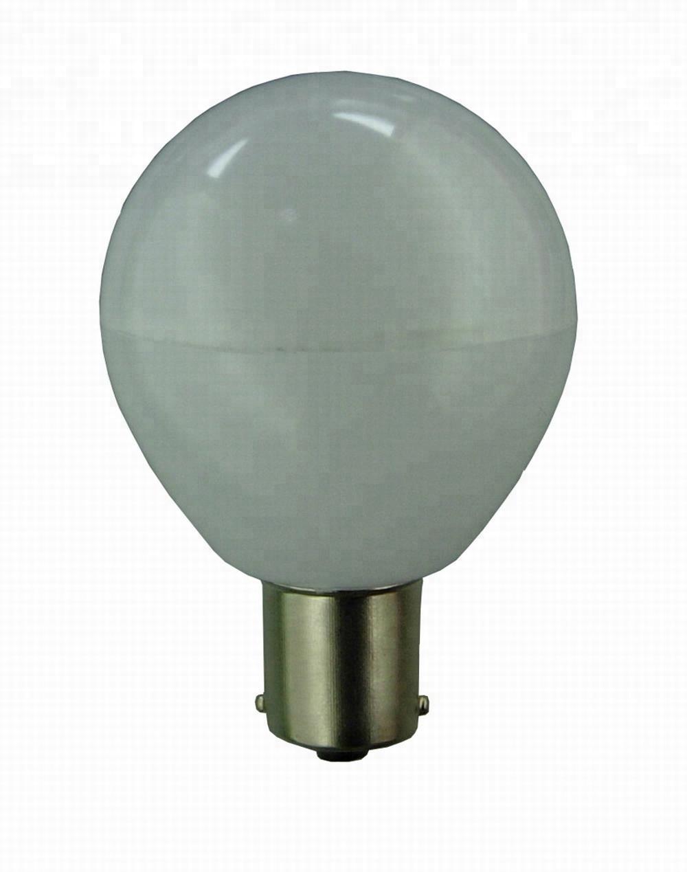 CE RoHS 12V 24V AC DC Plastic Housing outdoor led light bulb bayonet