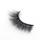 Natural long 100% mink hair eyelash diamond false lashes