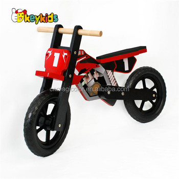2018 hot sale wooden balance kids bike,popular wooden children bike W16C152