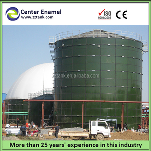 Chinese Pioneer of domestic biogas digester tank from Enamel Sheets