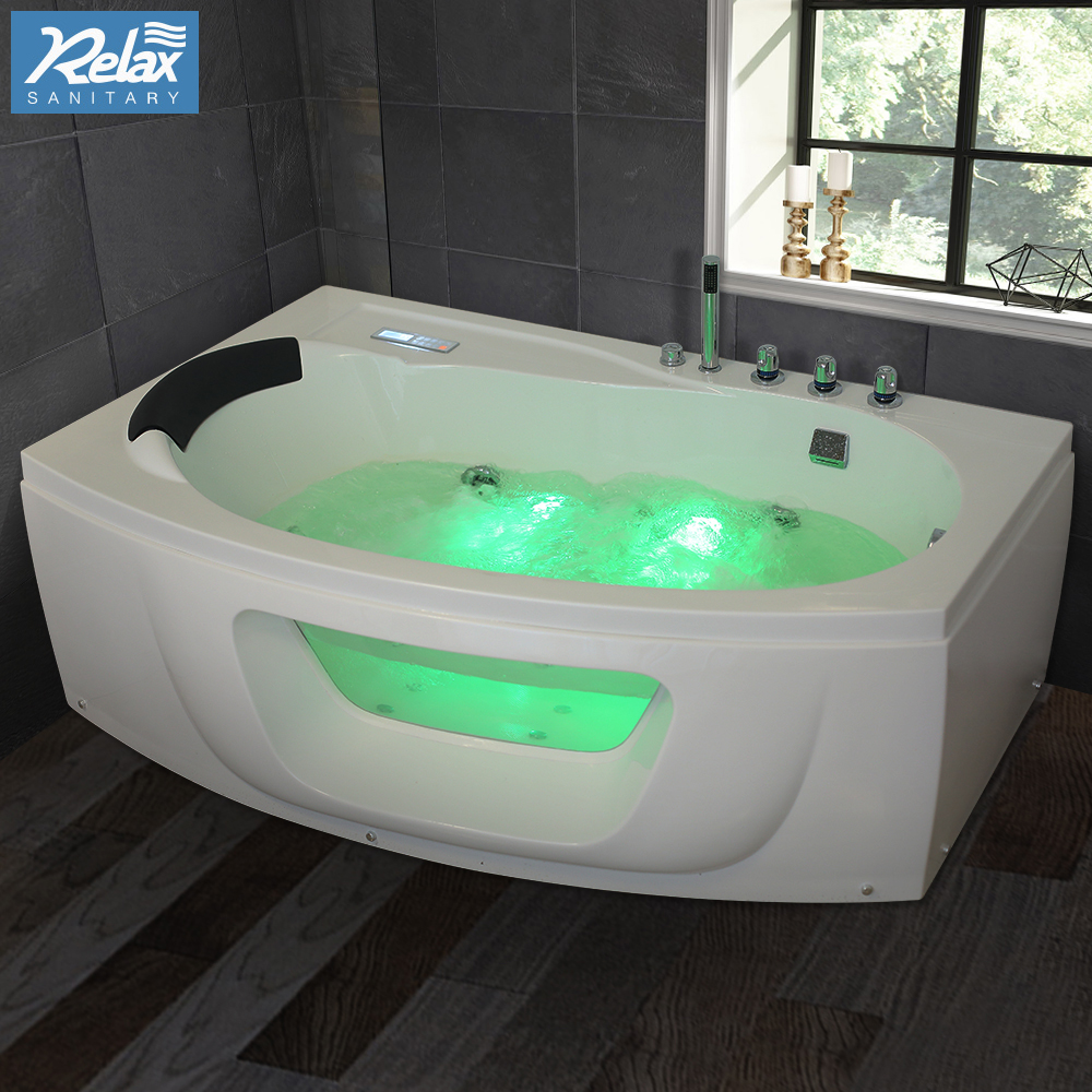 Funky Indoor Whirlpool Vignette - Bathroom with Bathtub Ideas ...