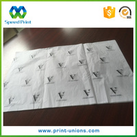 New products recycled custom logo printing letters wrapping tissue paper wholesale
