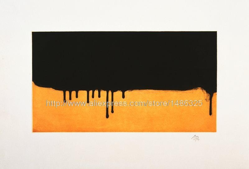 modern Art Painting Bedroom Decor Painting oil Living Room abstract Decorative Painting Robert Motherwell American