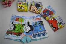 2016 Calcinha Infantil 3 Pcs/lot Boy Underwear Kids Panties Child's Underpants Shorts For Nurseries Children's Boxer Cbubx001