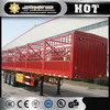 Dongfeng 3 axles cargo truck semi trailer