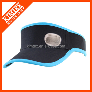 Custom Breathable Empty Air Sports Sun Visor Cap