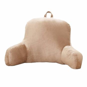 Plush Pillow Bed Backrest Back Support Tv Lounger Rest Dorm Cushion