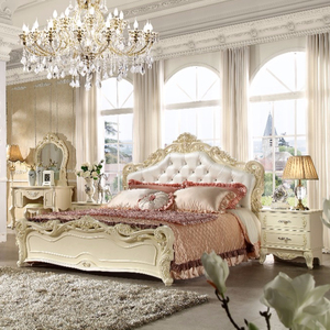 American Classical Luxury Style Bedroom villa Designed bedroom furniture