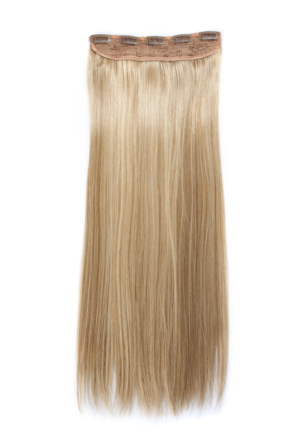High-temperature Resistance Fibre Flaxen Hair Extension Women Hairpiece Accessories 62cm Length 145g