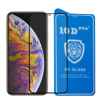 Factory Price 2019 9H Full Cover 10D Tempered Glass Screen Protector For iPhone XS XR Max X Silk Screen