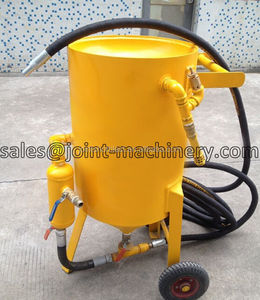 small garage home and business use 350l industrial sandblasters with wheel