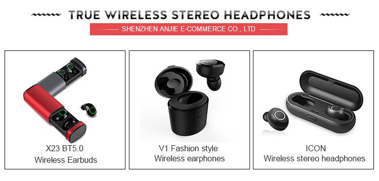 Fast delivery headphones wireless headphones for smart, strong signal small wireless headphones