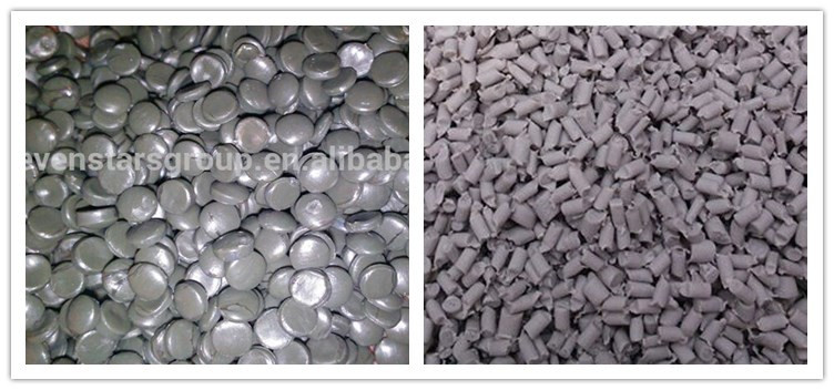 LY series zhangjiagang sevenstars high output CE certificate pe pp pelletizer for recycle plastic