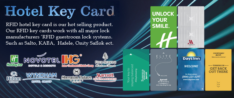 Custom Hiultra 13.56MHz RFID Hotel Key Room Card