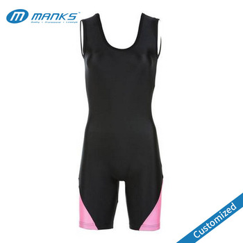 Custom Sexy Women Dry Fit Fabric Wrestling Singlet Wrestling Costume