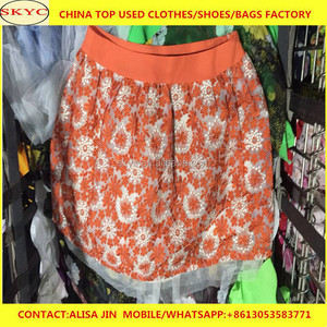 Hot sale items cheap second hand used ladies pants mixed with summer light  used clothing Africa importers