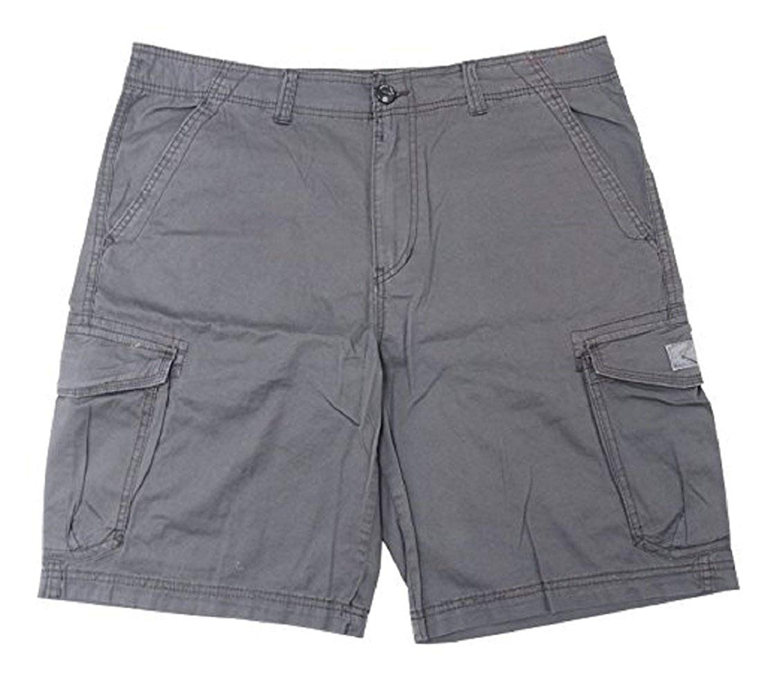 582b616747 Get Quotations · UNIONBAY MEN'S CARGO SHORTS, Solid Khaki's or Camoflage,  Unionbay (40, Flint)