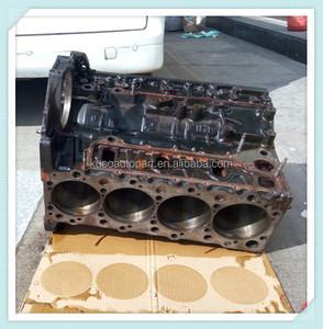 used engine parts of 4HL1 cylinder block assy for MAZDA NPR NLR ELF truck