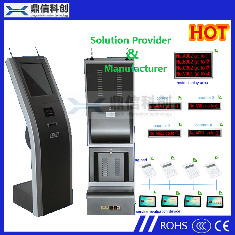 Cheap queue kiosk with queuing systems software