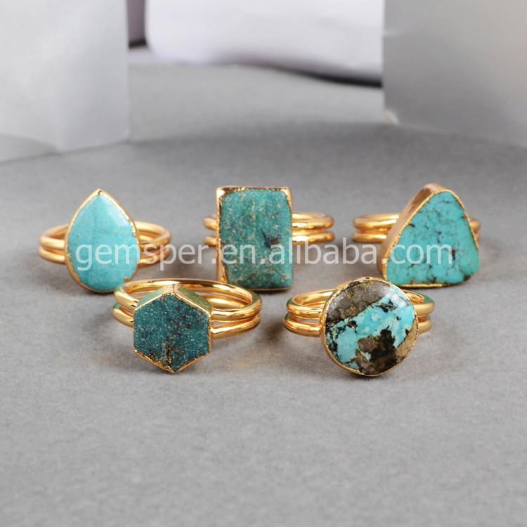Precios al por mayor 100 turquesa natural de piedras for Piedra preciosa turquesa